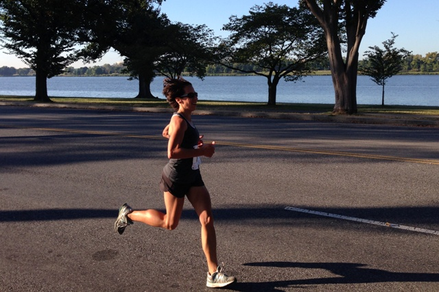 A scene from Ohio Drive, during the Hydrocephalus Association 5k . Photo: Erin Masterson
