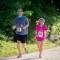 Marcus and Emily Simon run the Father's Day 8k. Photo: Matthew Lehner