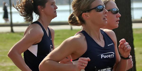 Kristin Henehan at the Olympic Trials. Photo:  Tony Yang