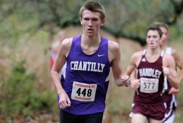 Ryan McGorty on his way to winning the Gettysburg Invitational. Photo: Ed Lull