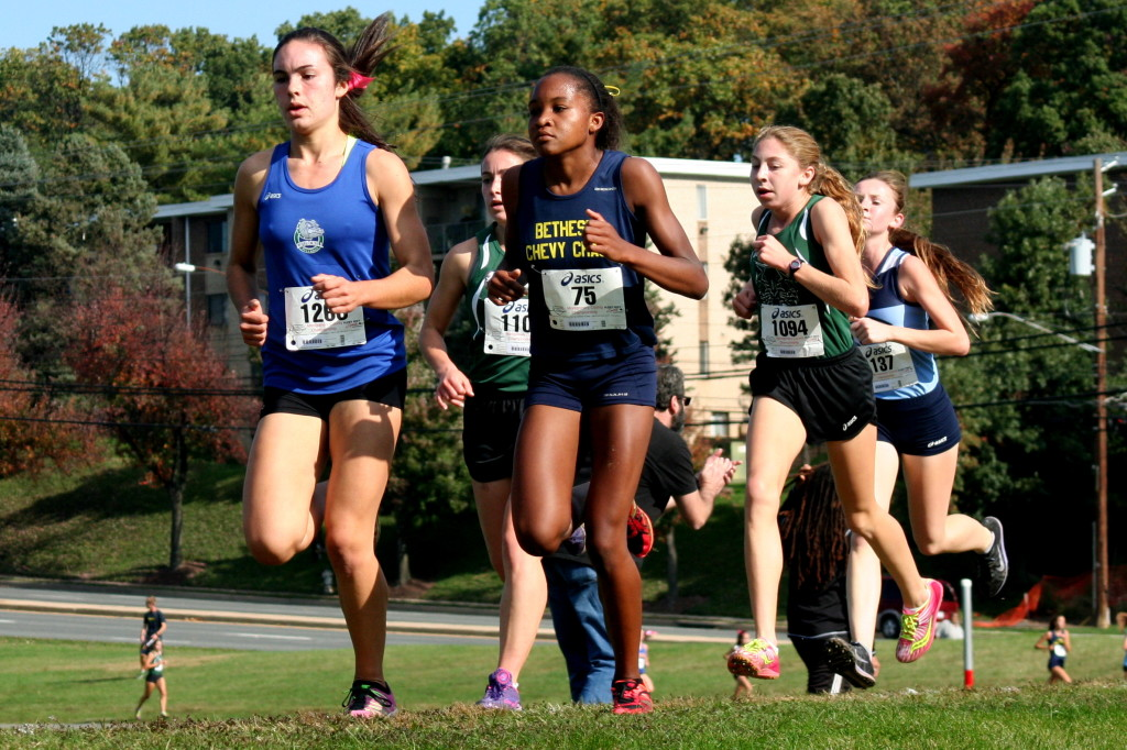 montgomery county cross country meet distance