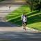 Will Christian leads Kevin McNab down the George Washington Parkway. Photo: Brian W. Knight/ Swim Bike Run Photography