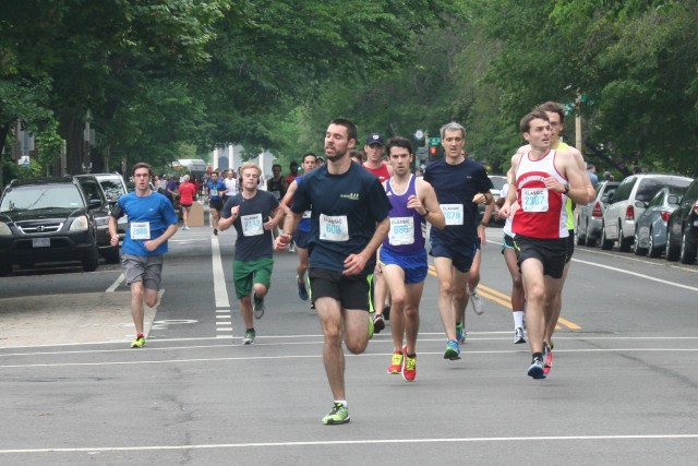 Cole Ashcraft leads a pack through the first half of the Capitol Hill Classic-- the course that plays out like an episode of Behind the Music. Photo: Charlie Ban