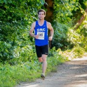 Ryan Witters cruises to victory in 2014's Father's Day 8k. Photo: Matthew Lehner