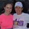 Amelia McKeithen (left) before the 2014 Rock 'n' Roll USA Half Marathon, for which she was the top fundraiser for Girls on the Run DC. Photo: MarathonFoto