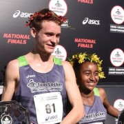 Drew Hunter and Weini Kelati. Photo courtesy of Foot Locker