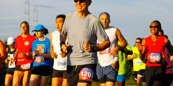 2015 Riley's Rumble Half Marathon. Photo: Dan Reichmann