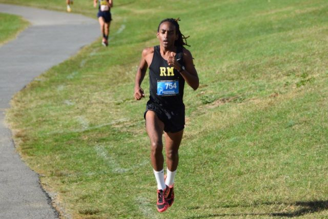 Rohann Asfaw at the Montgomery County Championships. Photo: Charlie Ban