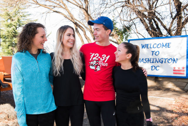 Claire Carmody, Cimone Safilian, Daniel Ritter and Christina McGrath. Photo: Joy Asico