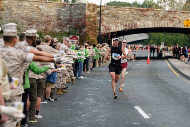 The 2016 Marine Corps Marathon. Photo: Dustin Whitlow/DWhit Photography