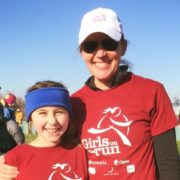 Amanda Marr with daughter, Claire