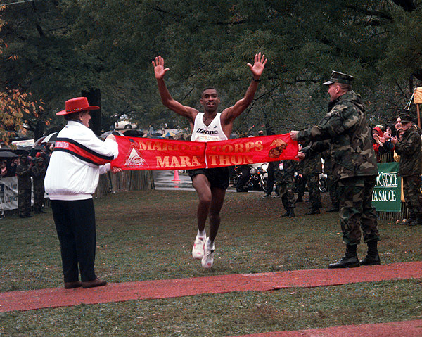 Darrell General, the greatest working runner (and two-time ...