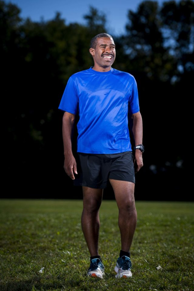Darrell general the greatest working runner and two time for Marine corps marathon shirt 2017