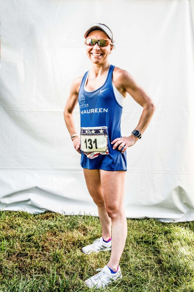 """Photo By Doug Stroud Maureen Valladares, (37), of Guatemala finished the 2017 Marine Corps Marathon with a time of 3:21:32. Running her first Marine Corps, seventh overall and her second of the year, """"I ran Boston in April"""". Asked how she liked the course here, """"It's a beautiful city to run, the sightseeing and everything was so beautiful"""". After having miscarriage a few years past started running to get out of depression, """"My priorities got out of order, I put God by the wayside. Now I run for myself and give all the glory to God."""""""